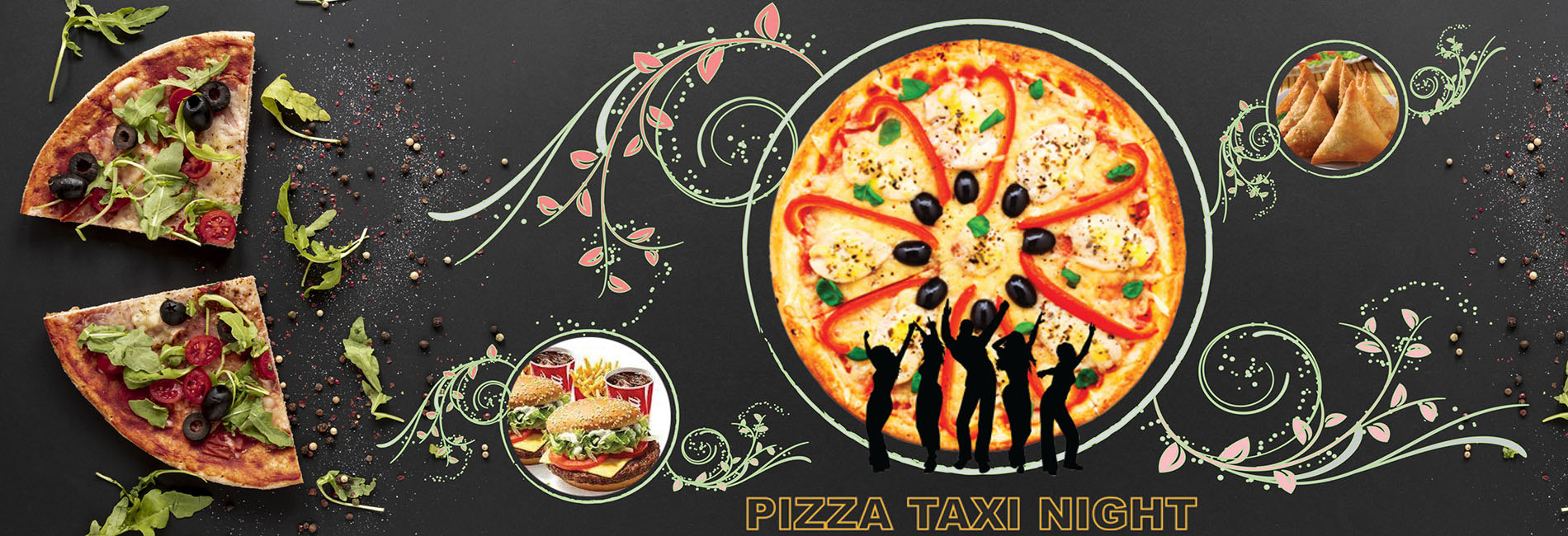 Pizza Taxi Night